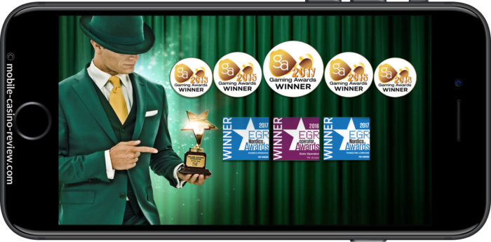 Mobile Casino Review - Mr Green - Industry Awards