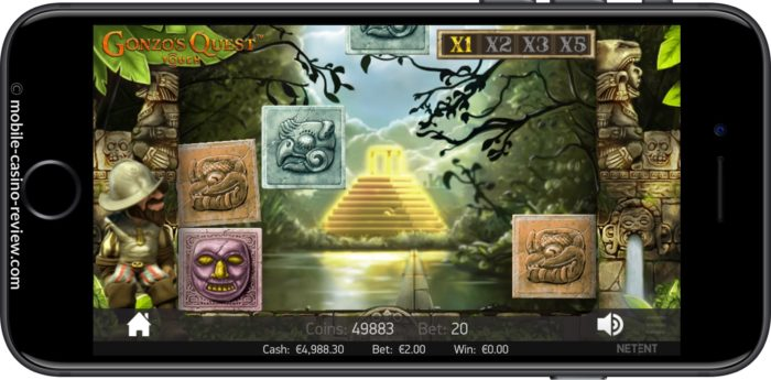 MobileCasinoReview_GonzosQuest_Slot_BlocksFall