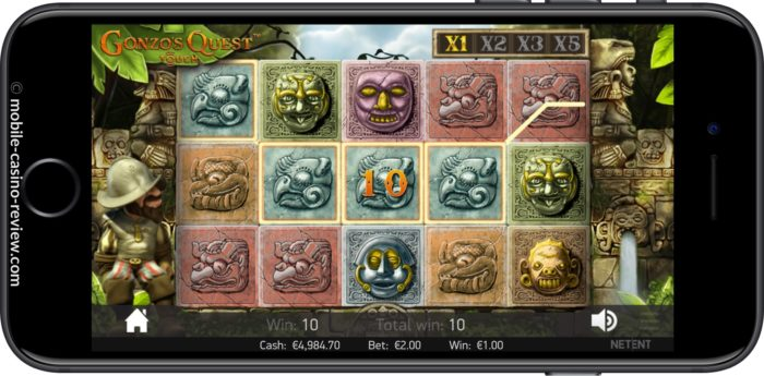 MobileCasinoReview_GonzosQuest_Slot_BlocksFull